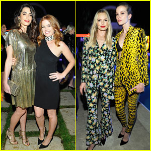 Amal Clooney Has Solo Girls Night Out at William Vintage's Gianni Versace Archive Unveiling!