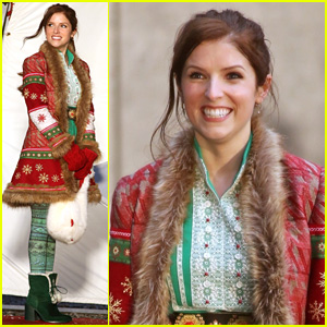 Anna Kendrick Plays Santa Claus' Daughter in 'Nicole' - First Set Pics!