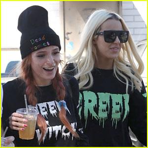 tana mongeau birthday Bella Thorne & YouTuber Tana Mongeau Share Pre Birthday Kiss  tana mongeau birthday
