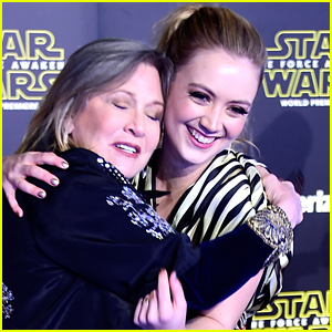 Billie Lourd Shares Sweet Throwback Photo on Mom Carrie Fisher's Birthday