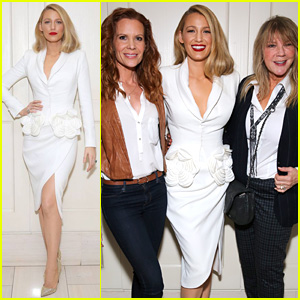 Blake Lively Rocks Shorter Hair, Brings Mom & Sister to 'All I See Is You' Screening!