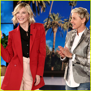 Cate Blanchett Responds to Harry Styles' Similar Style!