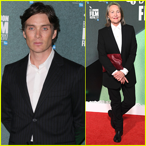 Cillian murphy photos news and videos just jared cillian murphy joins cherry jones at the party premiere in london freerunsca Choice Image