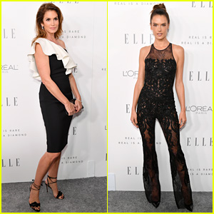 Cindy Crawford & Alessandra Ambrosio Look So Chic at Elle Women in Hollywood Event