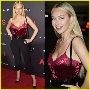 Corinne Olympios Hits Red Carpet for 'Jigsaw' Hollywood Premiere!