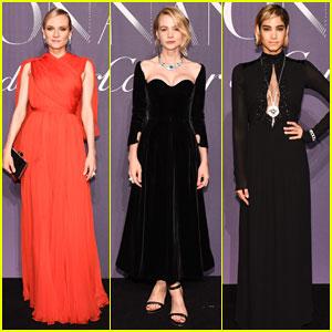Diane Kruger & Carey Mulligan Celebrate Résonances de Cartier High Jewelry Launch!