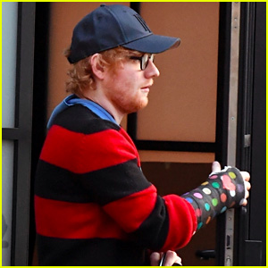 Ed Sheeran Enlists Damien Hirst to Add Some Flair to His Cast