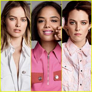 Margot Robbie, Tessa Thompson & Riley Keough Cover Elle's Women in Hollywood 2017!