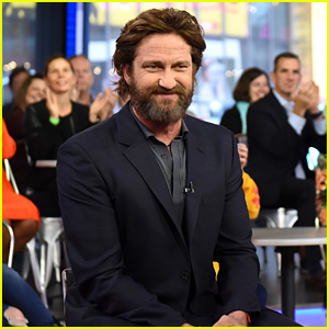 Gerard Butler Explains the Evolution of His Big, Scruffy Beard (Video)