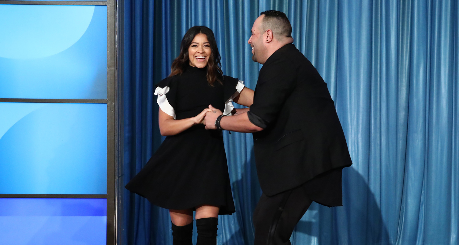 Gina Rodriguez Shows Her Salsa Skills For a Good Cause! | Gina ...
