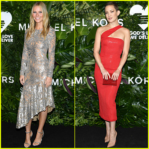 Gwyneth Paltrow & Kate Hudson Dazzle in Michael Kors at Golden Heart Awards