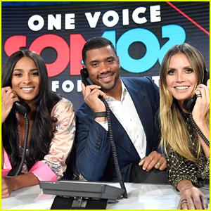 Heidi Klum Teams Up with Ciara & Russell Wilson for 'Somos: Una Voz' Puerto Rico Benefit