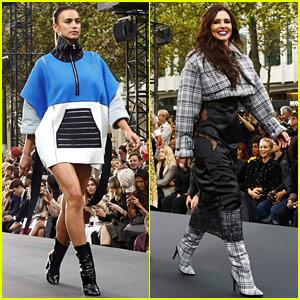Irina Shayk, Cheryl Cole, & More Take the Runway in Paris!