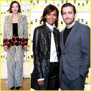 Jake Gyllenhaal Celebrates New Calvin Klein Campaign with Sister Maggie!