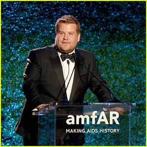 James Corden Apologizes for Offensive Harvey Weinstein Sexual Harassment Jokes at amfAR Gala