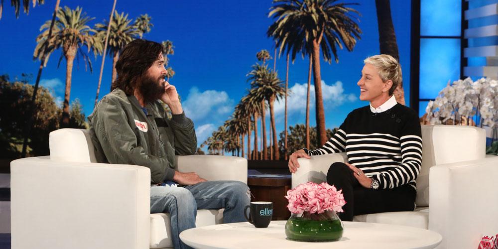 Jared Leto Reacts to Horrifying Las Vegas Shooting on Ellen