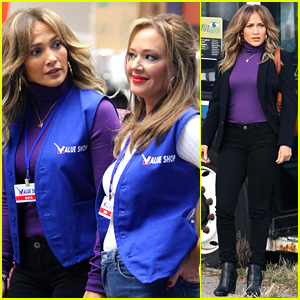 Jennifer Lopez & Leah Remini Are Value Shop Employees for New Movie!