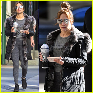 Jennifer Lopez's Post-Gym Look is So Fierce - See the Pics!