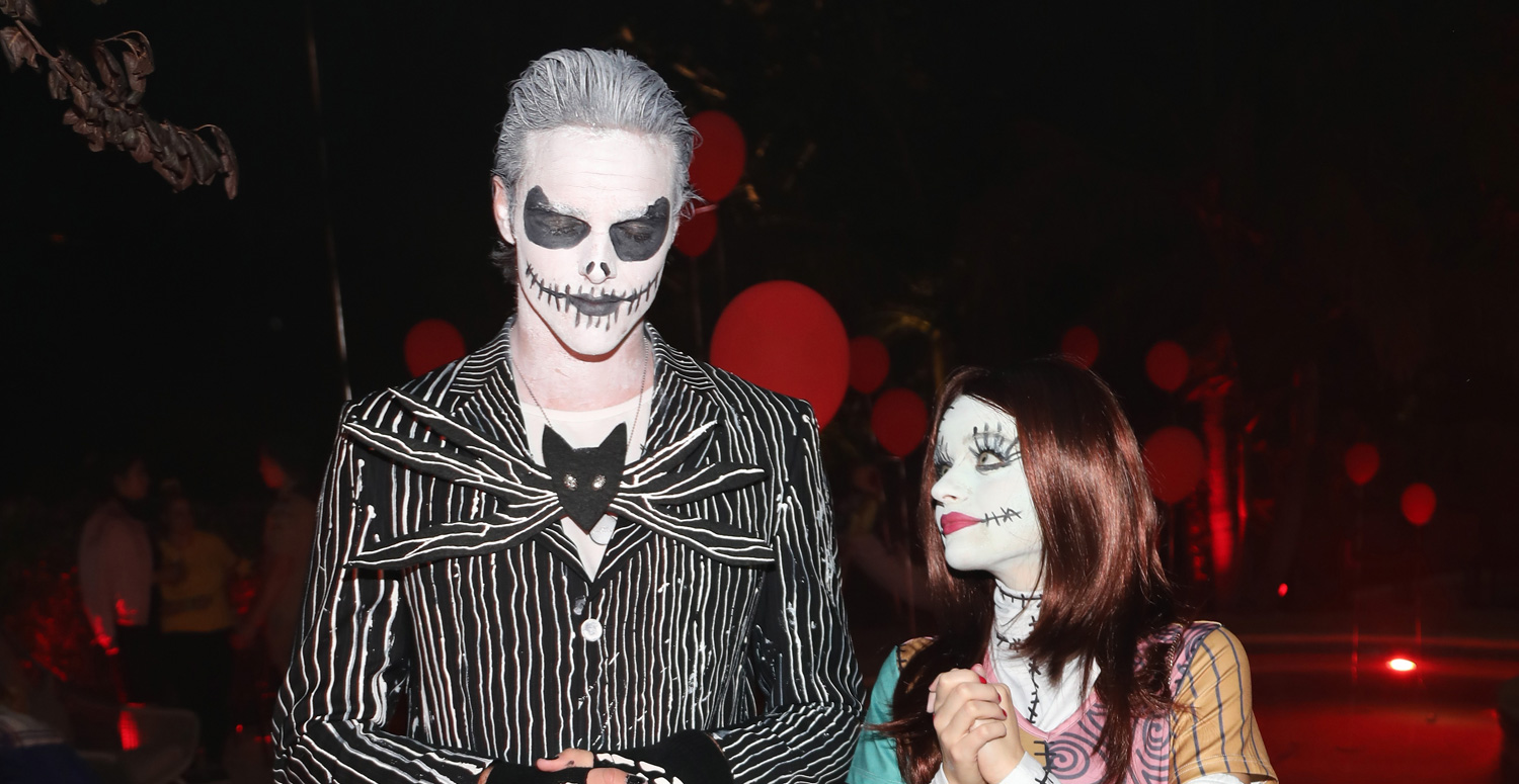 Joey King Channels \'Nightmare Before Christmas\' for Halloween with ...