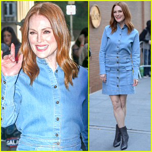 Julianne Moore Steps Out to Promote 'Wonderstruck' in NYC