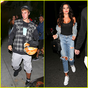 Justin Bieber & Rumored Girlfriend Paola Paulin Leave Church Together!