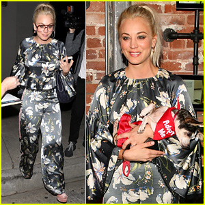 Kaley Cuoco Attends Much Love Animal Celebrity Fundraiser