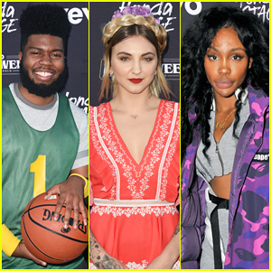 Khalid, Julia Michaels & SZA Team Up for Vevo Halloween 2017!