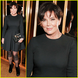 Kris Jenner Brings Natural Hair Color To Karl Lagerfeld's Intimate Dinner Party!