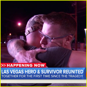 Las Vegas Shooting Victim Reunited with Man Who Saved Him in Emotional Video - Watch Now