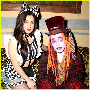 Fifth Harmony's Lauren Jauregui & Ty Dolla $ign Celebrate the Release of 'Beach House 3' in Halloween Costumes!