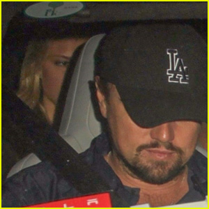 Leonardo DiCaprio Leaves the Club with Model Juliette Perkins