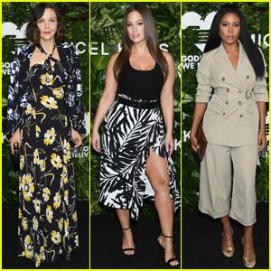 Maggie Gyllenhaal, Ashley Graham & Gabrielle Union Get Glam For Golden Heart Awards