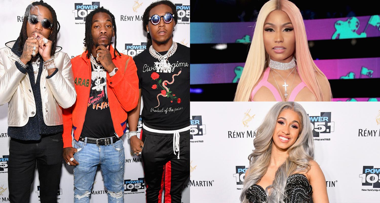 Migos, Nicki Minaj & Cardi B: 'Motor Sport' Stream, Lyrics
