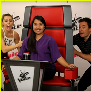 Miley Cyrus & Jimmy Fallon Photobomb Fans in Hilarious New Video - Watch Now!