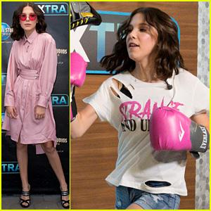 Millie Bobby Brown, se Trata de un Boxeo de Clase en la Premiere el Día!