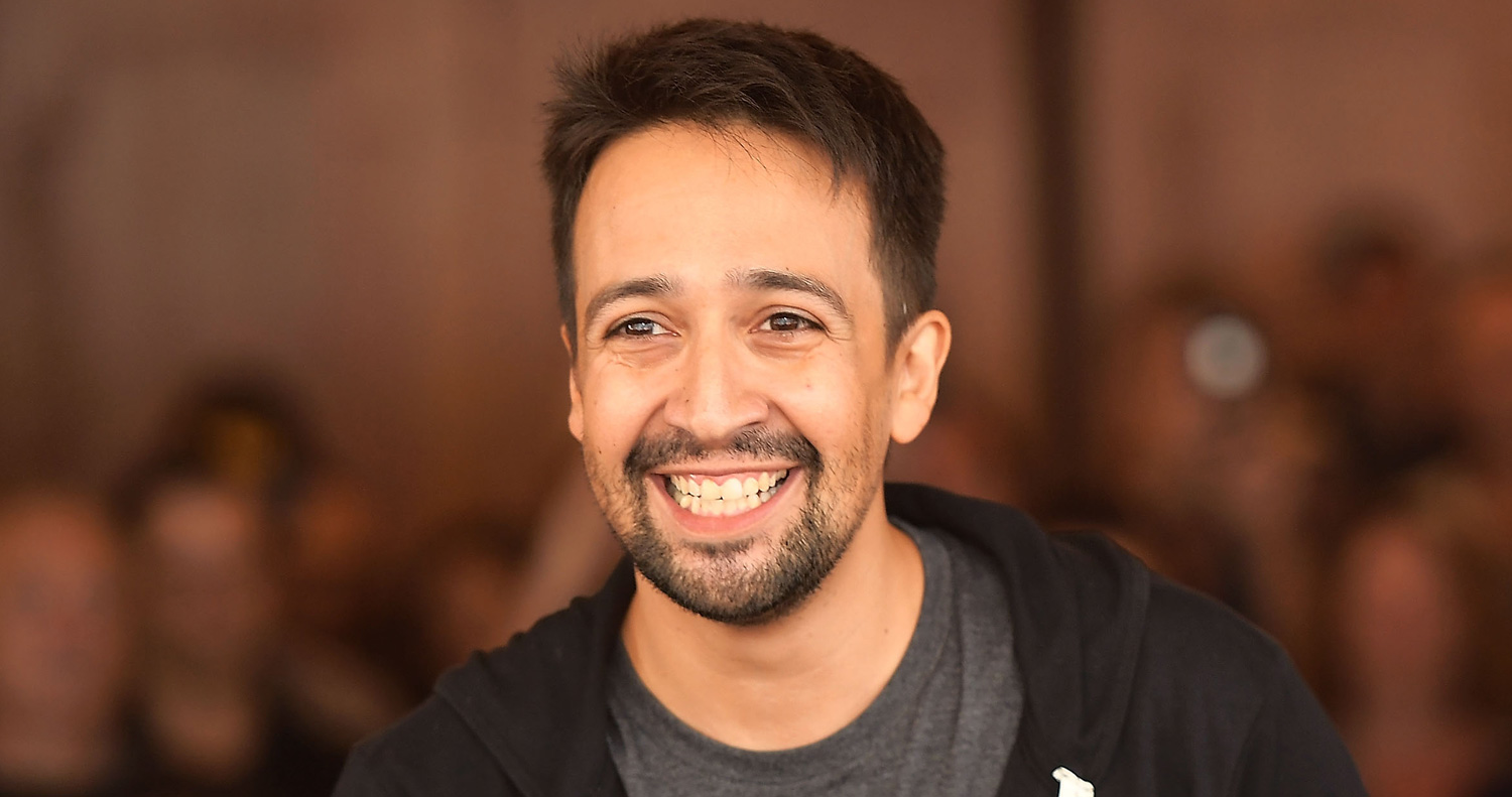 Lin Manuel Miranda Is Developing A New Series At Showtime Lin Manuel Miranda Showtime Television Just Jared