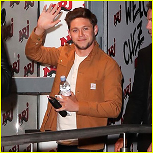 Niall Horan Waves to Fans While Arriving for a Radio Interview in Paris!