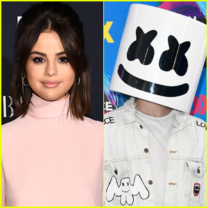 Selena Gomez Teams Up with Marshmello for New Song 'Wolves'!