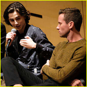 Timothee Chalamet Says He Was 'Quite Nervous' to Film Racy Scene in 'Call Me By Your Name'