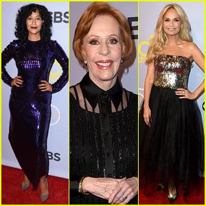 Tracee Ellis Ross & Kristin Chenoweth Celebrate the 'Carol Burnett Show' 50th Anniversary