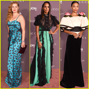 Amy Adams, Kerry Washington, & Zoe Saldana Go Glam for LACMA Gala 2017
