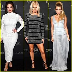 Ashley Graham, Fergie, Rachel Platten Arrive at Miss Universe Pageant 2017