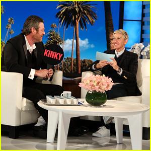 Blake Shelton Plays 'Kinky Or Drinky' With Ellen DeGeneres!