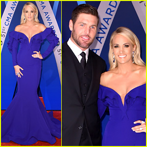 Carrie Underwood Brings Husband Mike Fisher to CMA Awards 2017 for 10th Year as Host!