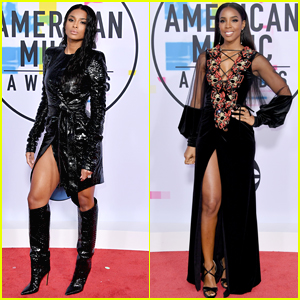 Ciara & Kelly Rowland Show Off Some Leg at American Music Awards 2017