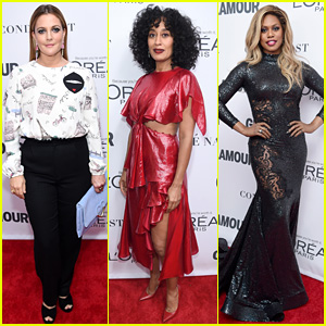 Drew Barrymore, Tracee Ellis Ross, & Laverne Cox Honor the Women of the Year!