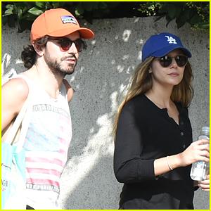 Elizabeth Olsen Spends the Afternoon with Boyfriend Robbie Arnett at the Farmers Market