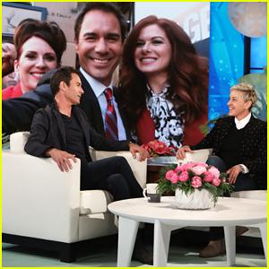 Eric McCormack Tells 'Ellen' That He Thinks of 'Will & Grace' Cast as New 'Golden Girls'!