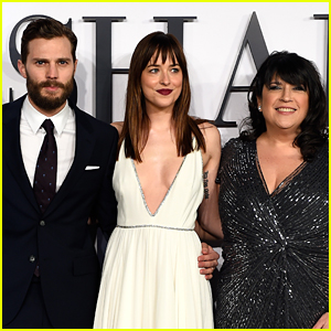 'Fifty Shades' Author Shares Hot Photo of Jamie Dornan on Set of 'Fifty Shades Freed'!