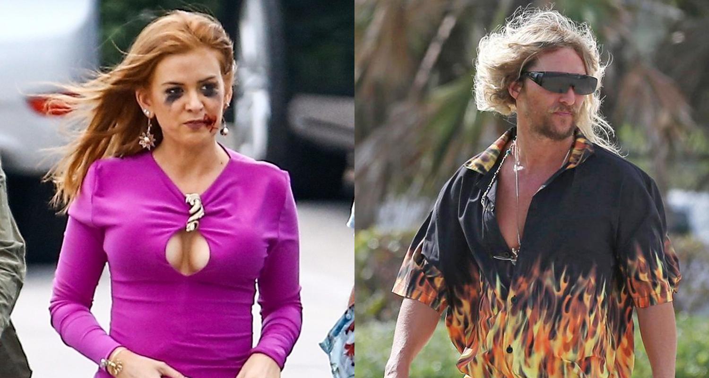 Isla Fisher Amp Matthew Mcconaughey Get Into Character On